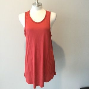 HALSTON Red Tank Top NWT Large